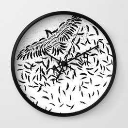 Of a feather Wall Clock