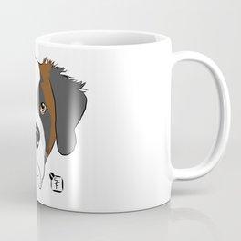 St Bernard Face Coffee Mug