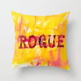 going rogue Throw Pillow