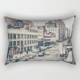 Tough Streets - NYC Rectangular Pillow