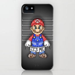 It's ME, Evil Mario !  iPhone Case
