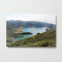 Azores Islands Fogo lake Metal Print