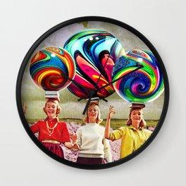 Balancing Act Wall Clock