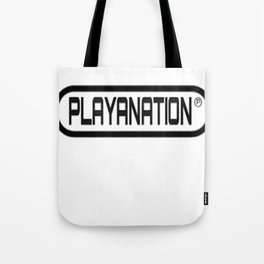 PlayaNation BW 2-Tone Tote Bag