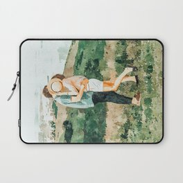 Togetherness #painting Laptop Sleeve
