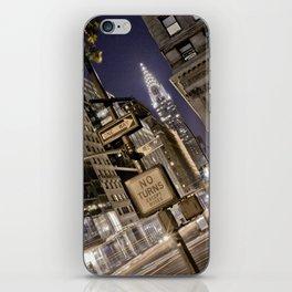 Chrysler Building - New York Artwork / Photography iPhone Skin
