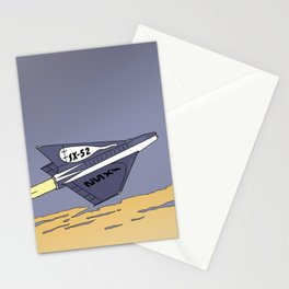 SX-52 - Tribute to Edgar P. Jacobs and Yves Chaland Stationery Cards