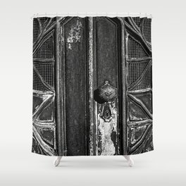The Key Hole Shower Curtain