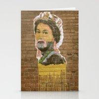 jenny liz rome Stationery Cards featuring Liz by Teresa Gabry