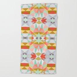 Summer Deco Tribal Beach Towel
