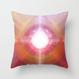 PRYSMIC ORBS Throw Pillow