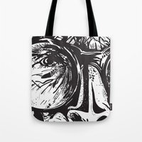 glasses Tote Bags featuring Glasses by Stacy Nguyen