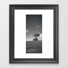 at the meeting place... Framed Art Print