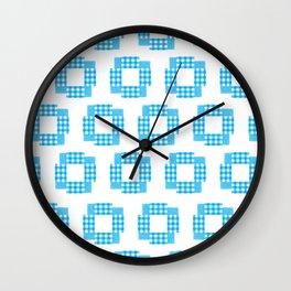 Indigo Shuriken Bloss Wall Clock