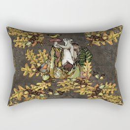 History of the autumn forest_5 Rectangular Pillow