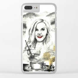 Misty Voyage Clear iPhone Case
