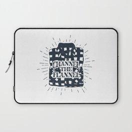 Channel The Flannel Laptop Sleeve