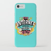 internet iPhone & iPod Cases featuring The Internet. by Chris Piascik