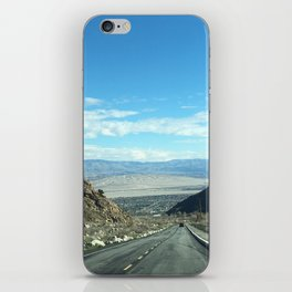 Mountain Road in Palm Springs California iPhone Skin