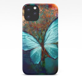 The Blue butterfly iPhone Case