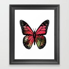 Butterfly Mosaic Framed Art Print