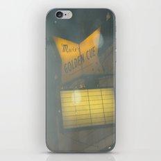 Marie's Golden Cue ~ Chicago Billiards iPhone & iPod Skin