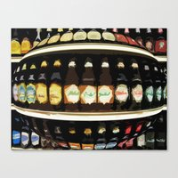 beer Canvas Prints featuring Beer by Jose Luis