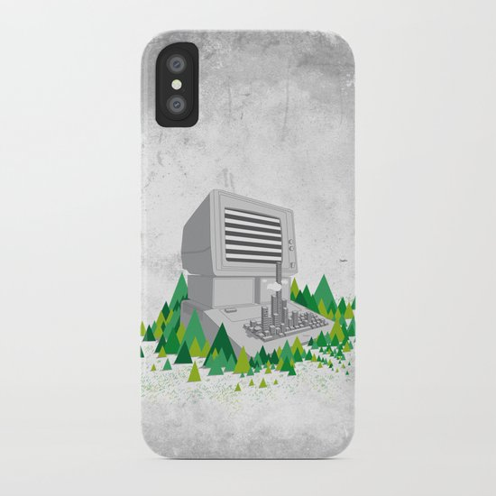 Keyboard City iPhone Case