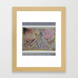 new world life. Framed Art Print