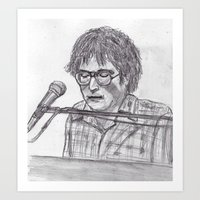 randy c Art Prints featuring Randy Newman by jamestomgray