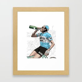 Coppi Celebrates Framed Art Print