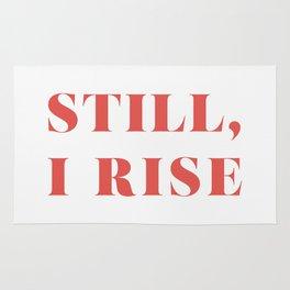 "Maya Angelou / ""Still, I Rise"" Rug"