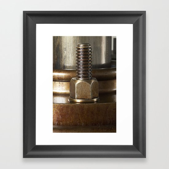 Screw yoo Framed Art Print