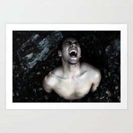 Birthing Leo Art Print