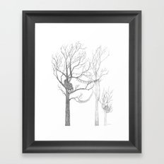Quilted Forest II Framed Art Print