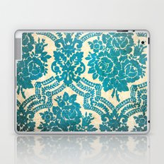 Flower vintage pattern Laptop & iPad Skin