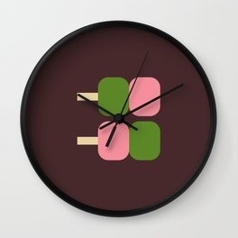 Japan Dango Sweet Wall Clock