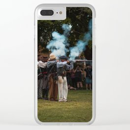 Fire Squad by Rawfoto San Antonio Texas Clear iPhone Case