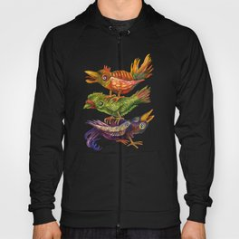 Three Birds Totem Hoody