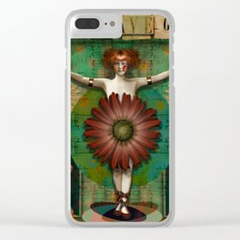 """Daisy Woman (Life of a Slave Girl)"" Clear iPhone Case"