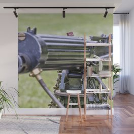 Vickers Machine Gun Wall Mural