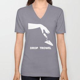 Drop trowel Unisex V-Neck