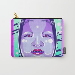 Neon Noh - Wakaonna Carry-All Pouch