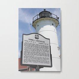 Nobska Lighthouse Metal Print