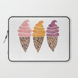 Ice Cream Cones - Soft Serve Laptop Sleeve