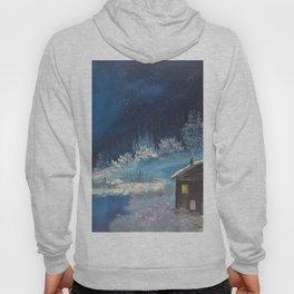 Moonlit cabin Hoody