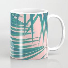 Palm Leaves Blush Summer Vibes #2 #tropical #decor #art #society6 Coffee Mug