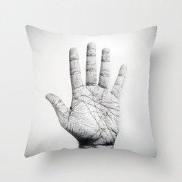 Palmar Throw Pillow