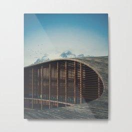 Day 1135 /// Nordic Utopian Design Metal Print