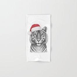 Christmas Tigress Hand & Bath Towel